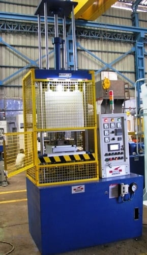 3- Vaccum Compression Moulding Press with Slide