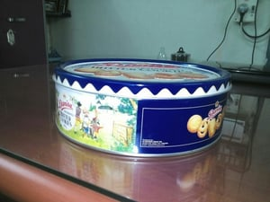 Cookies Tin Container