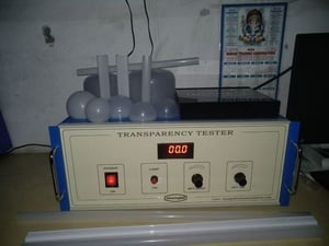 Diffuser Transparency Tester For LED Lighting