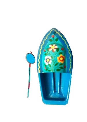 Flowers Steam Toy Boat