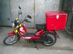 Bike Delivery Box For TVS XL