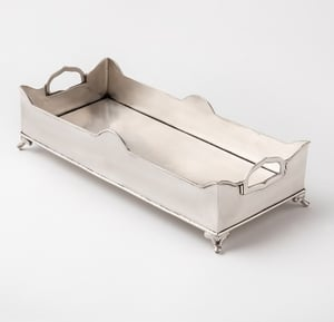 Superior Quality Range Of Chester Handled Gallery Tray