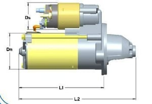Electronic Starter Motor for Electrical Applications