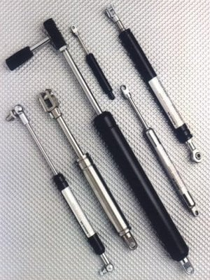 Gas Springs from HAHN-GmbH
