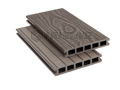 New Deep Embossed WPC Decking Boards