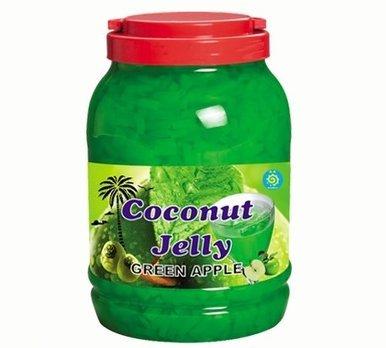 Green Apple Coconut Jelly/Nata De Coco Jelly