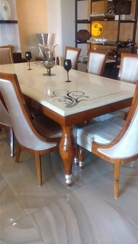 Dining Table With Marble