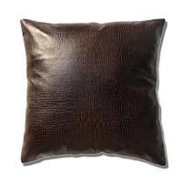 Black Leather Cushion Covers