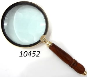 Antique Brass Magnifying Glass