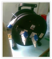 Cable Drum-Insulated Hard Rubber
