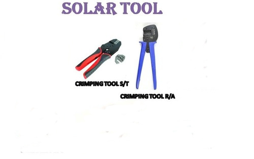 MC4 Crimping Tool Right Angle And Straight