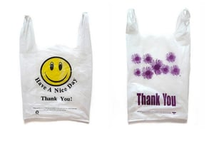 Thank You Plastic Grocery Bags