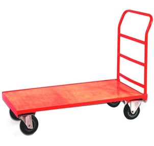 150 Kg Load Capacity Material Moving Trolley