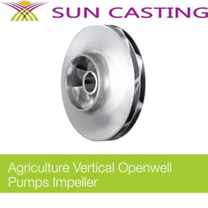 Agriculture Vertical Openwell Pumps Impeller Casting