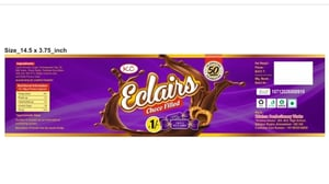 Eclair Choco Filled Toffee
