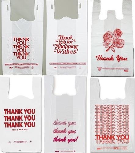 Biodegradable T-Shirt Plastic Bag