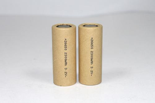 20C Discharge 3.2V 2.3AH 26650 Life PO4 Battery