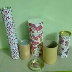 Paper Container For Packing Food