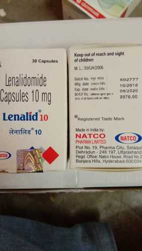 Lenalid 10 Anti Cancer Capsules