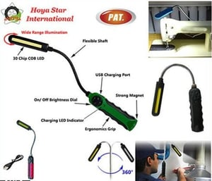 Portable Handy Tool Magnet Light with LED