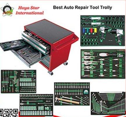 Auto Repair Tool Trolley (292Pcs Socket)