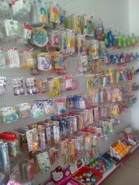 Baby Shop and Toys Hook Rack