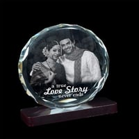 Personalized Crystal Wedding Gift