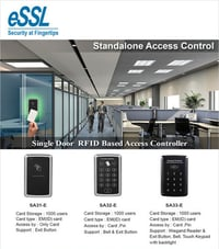 Single Door RFID Based Access Controller