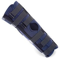Knee Immobilizer For Bending
