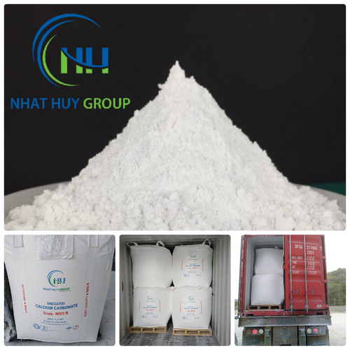 CaCO3 Powder (GCC) for Plastic Industries (PVC Pipe/Filler/Masterbatches)