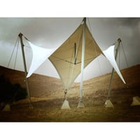 Landscape Conical Tensile Structure
