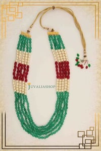 Designer Traditional Necklaces (5 Raw Necklaces With Ruby)