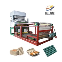 Recycling Waste Paper Egg Tray And Carton Machine