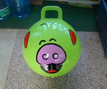 Bouncing Ball With Handle For Adults