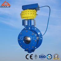 Pneumatic Ball Type Inlet Valve / Dome Valve