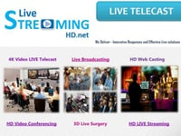 Live Streaming Video Conference Service