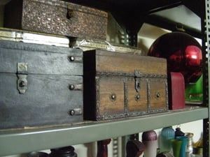 Reclaimed Wood Antique Chests