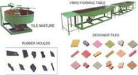 Tiles Manufacturing Machine