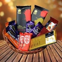 Delicious Crunches And Dryfruits Chocolates
