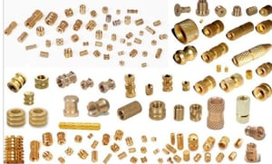 Brass Moulding Insert And Nuts