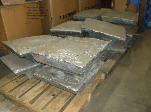High Grade Aluminum Alloy Ingot
