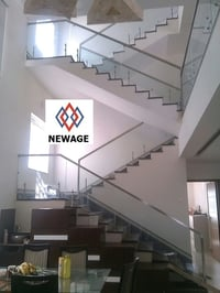 Highly Finished Glass Railings