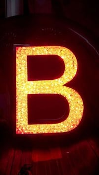 Crystal LED Sign Letters
