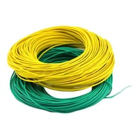 Green And Yellow Electric Wire