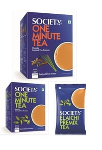 Society One Minute Tea