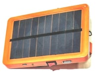 Solar Power Bank with Light
