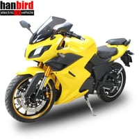 Super Clean Yamaha FZ1 Sportsbike, Full Size DP Electric Motorcycle for Adults