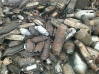 Catalytic Converter Scrap with the Catalyst Inside 100%
