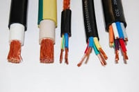 Many Colored Copper Flexible Cables