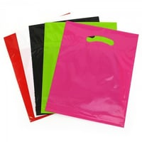 Colorful Plastic Carry Bags